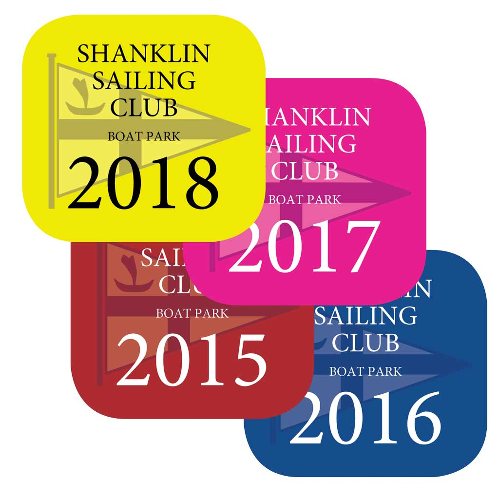 Shanklin Sailing Club mast stickers