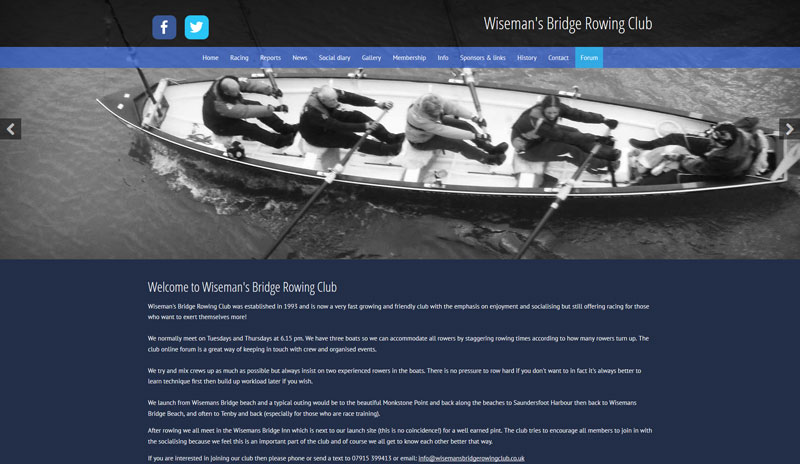 Wiseman's Bridge Rowing Club